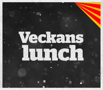 Dagens lunchmeny