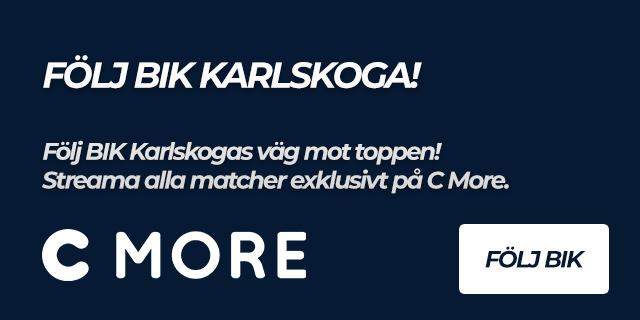Följ BIK Karlskoga på C more