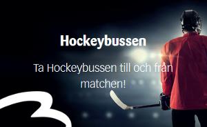 Bildpuff: Ta hockeybussen till och från matchen