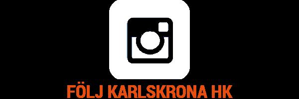 Följ Karlskrona HK på Instagram