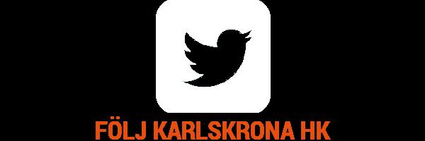 Följ Karlskrona HK på Twitter
