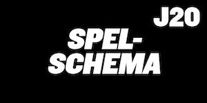 Spelschema J20