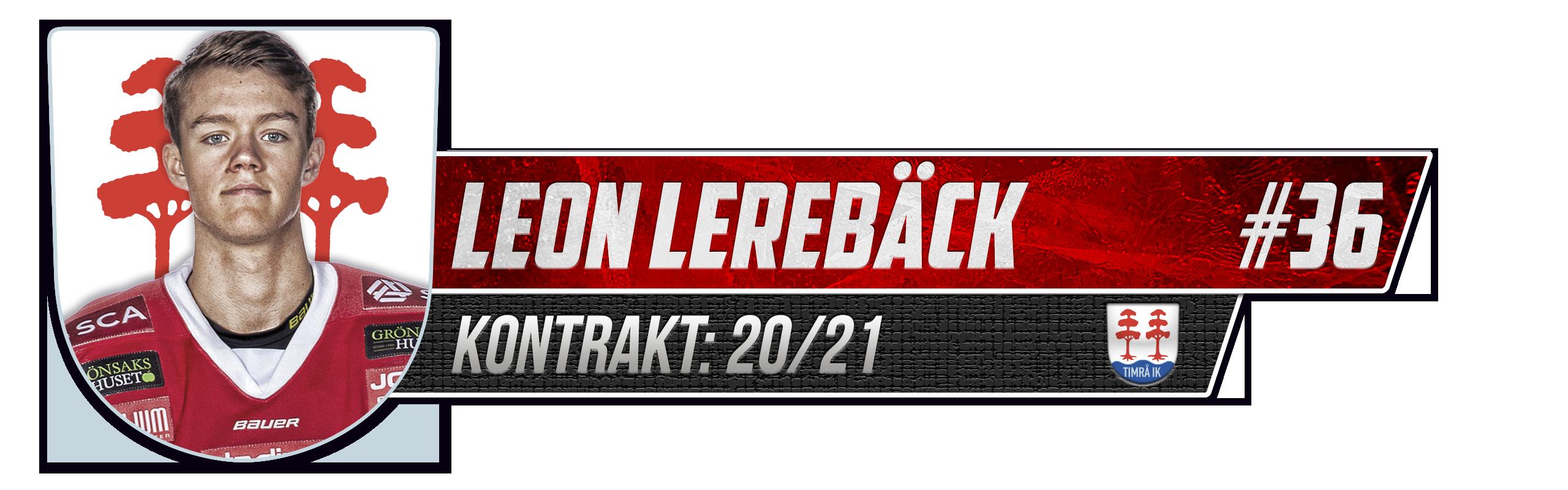 Leon Lerebäck