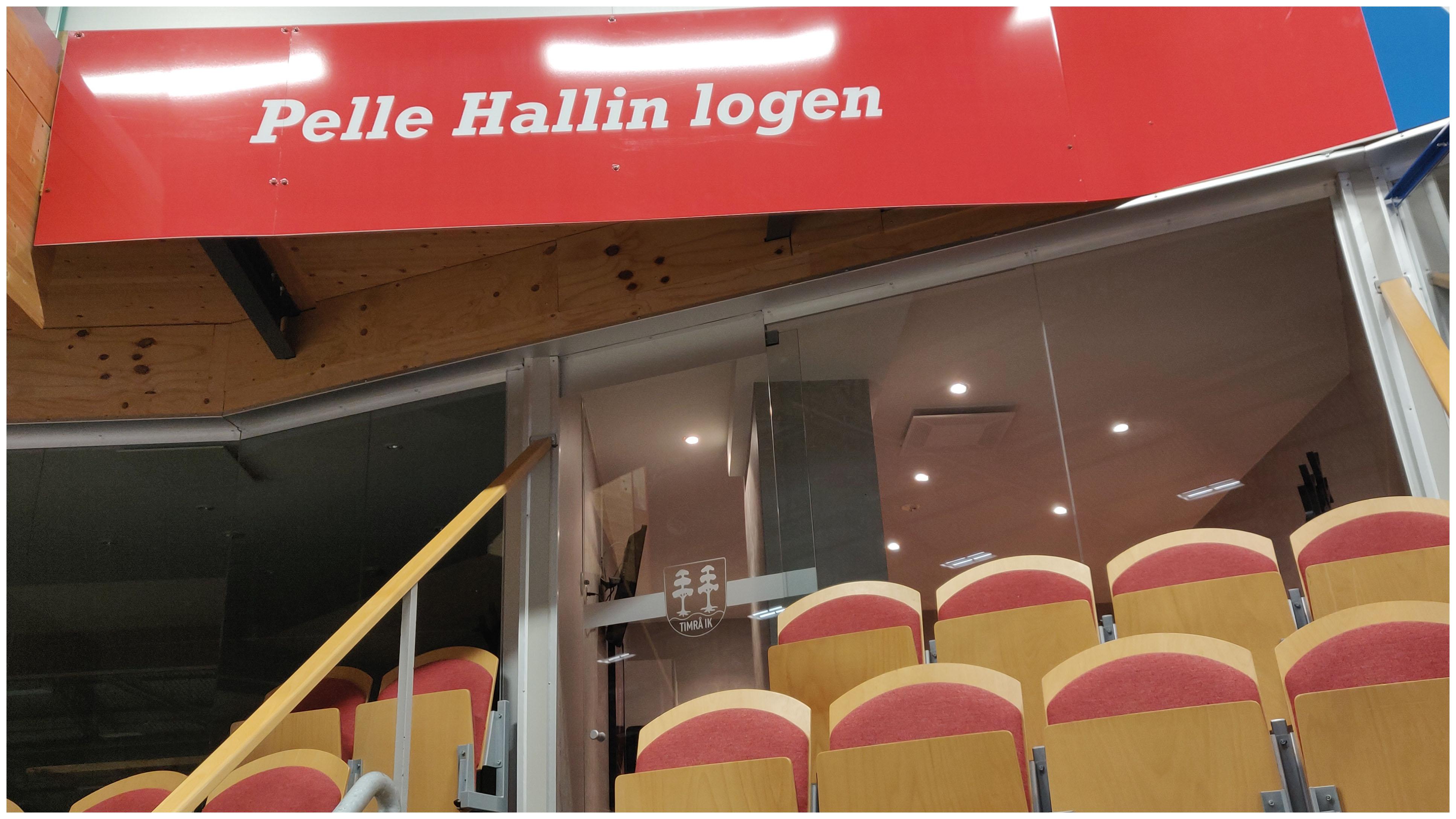 Sittplatser Per Hallin-Logen