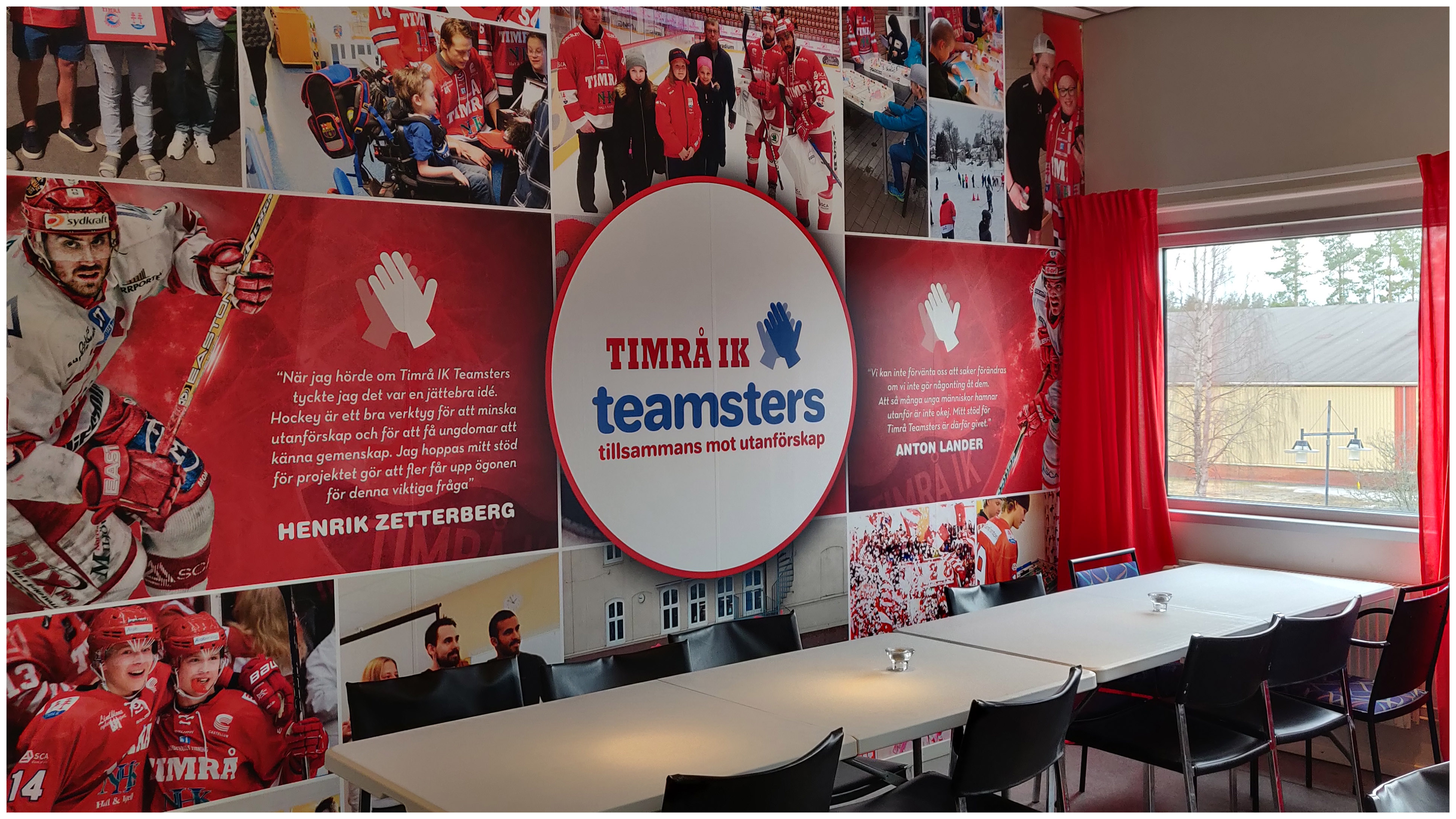 Sittplatser Teamsters-logen