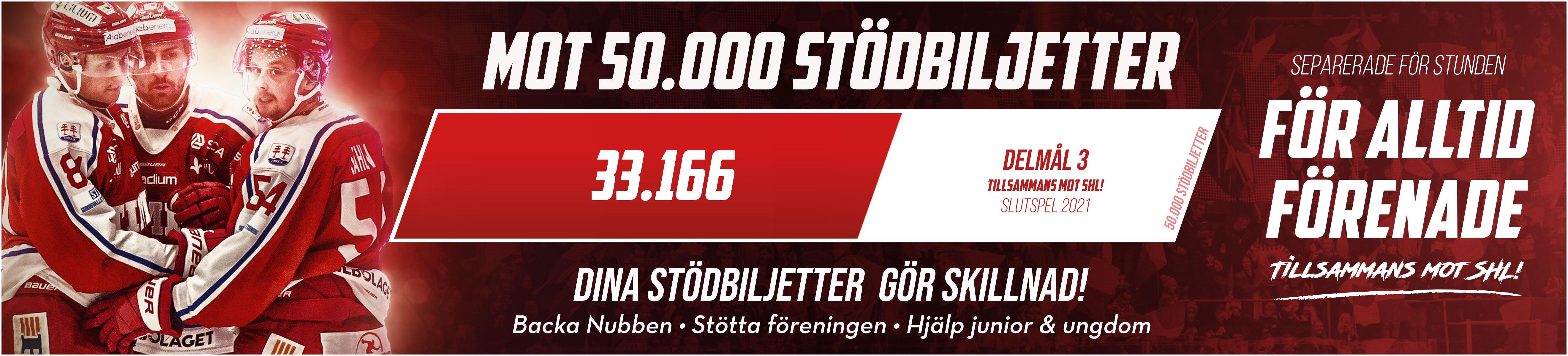 50 000 stödbiljetter