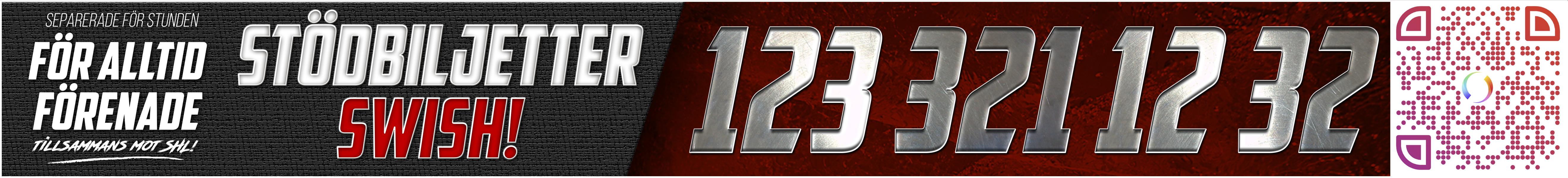 Stödbiljetter swishnr 123 321 12 32