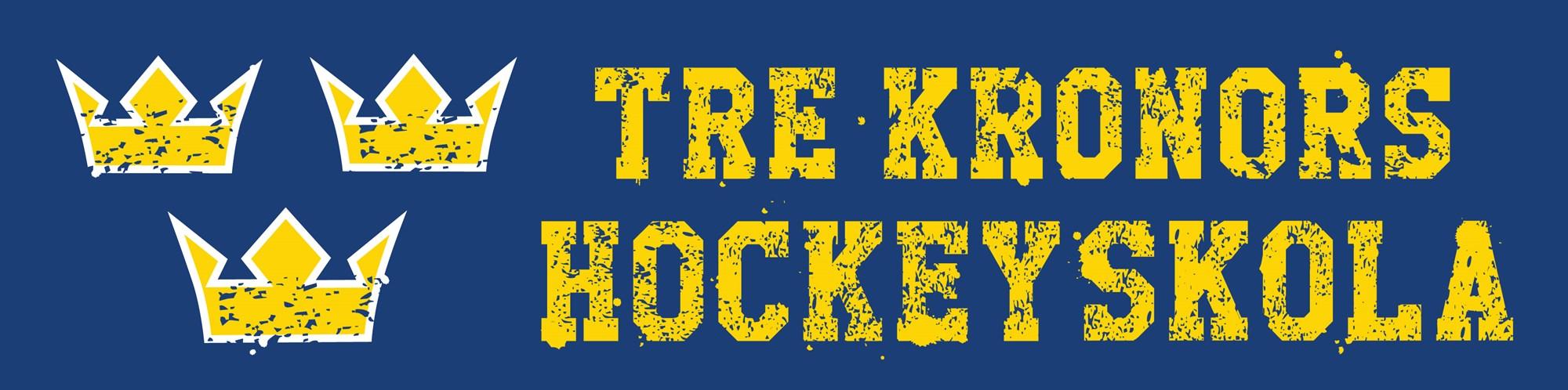 Logotyp Tre Kronors Hockeyskola