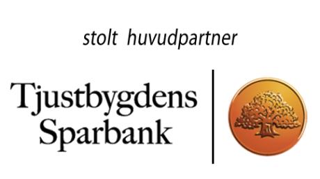 Tjustbygdens Sparbank logo svart text