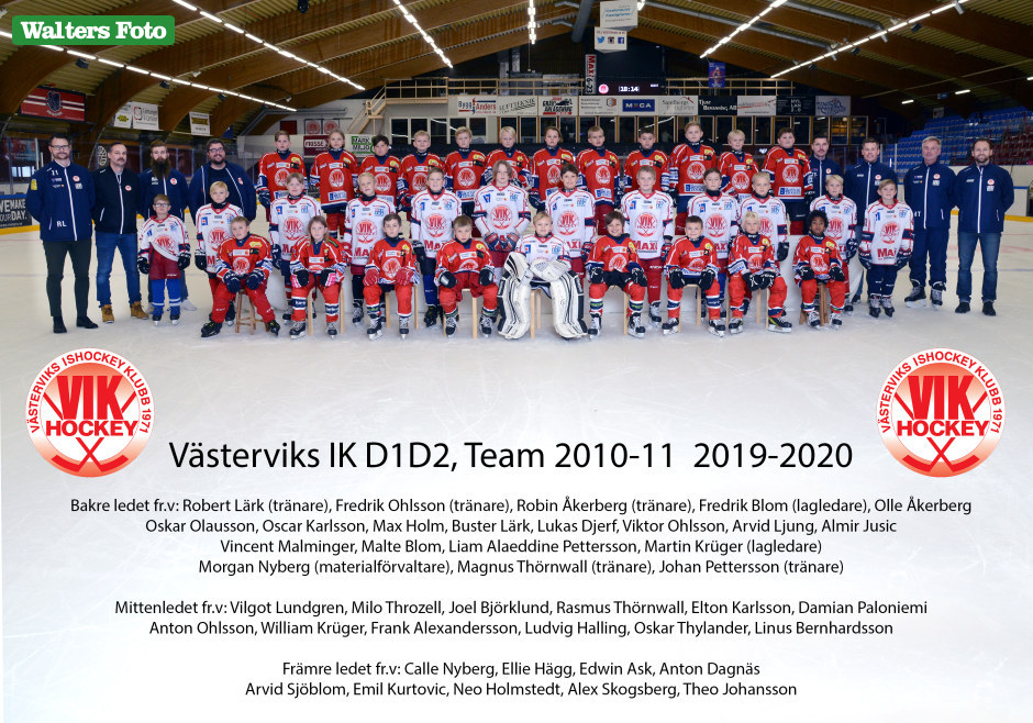 lagbild D1D2 Team 2010 och 2011