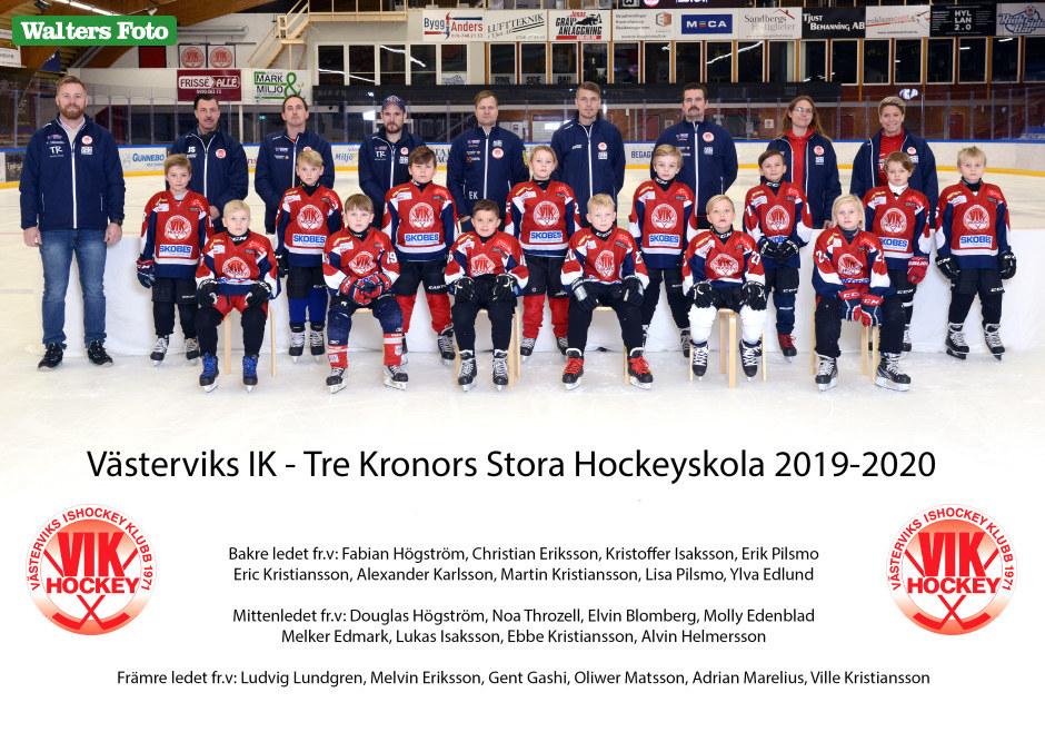 Tre Kronors stora Hockeyskola 2019-20