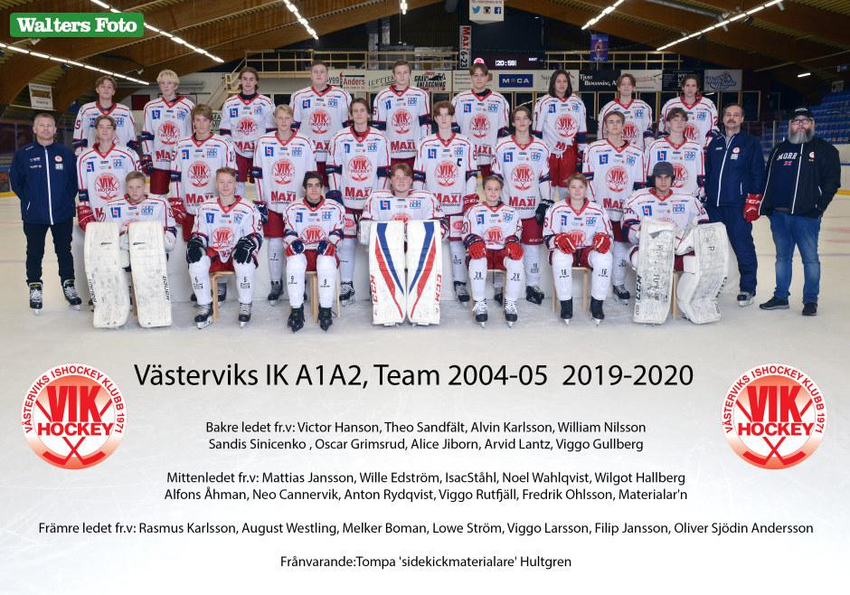 lagbild vik a1a2 team 2004 och 2005