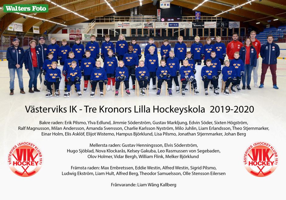 Tre Kronors lilla Hockeyskola 2019-20